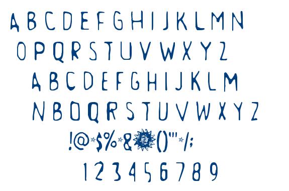 Aamunkoi font