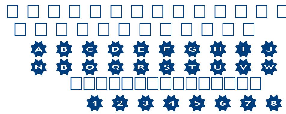 alphaahapes stars 4 font