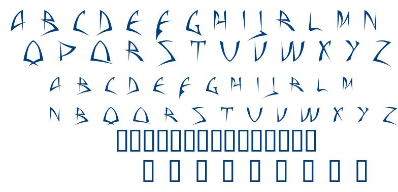 Baphomet font