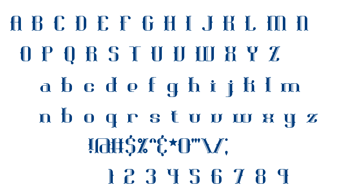 Blackoninaut BRK font
