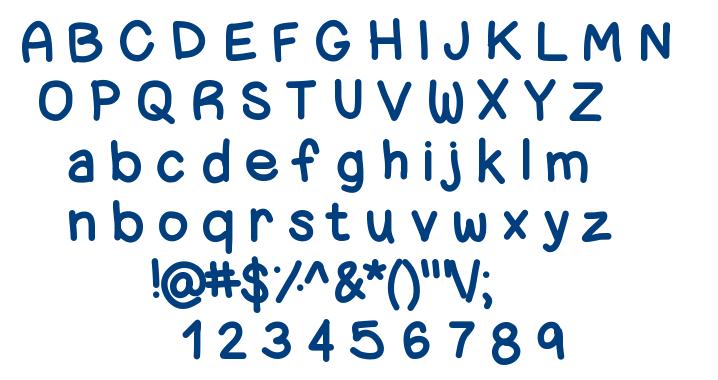 ChunkyNess font