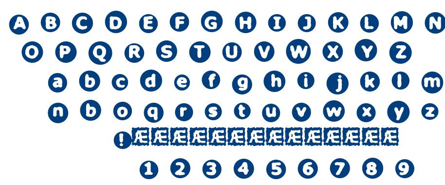Circulate BRK font