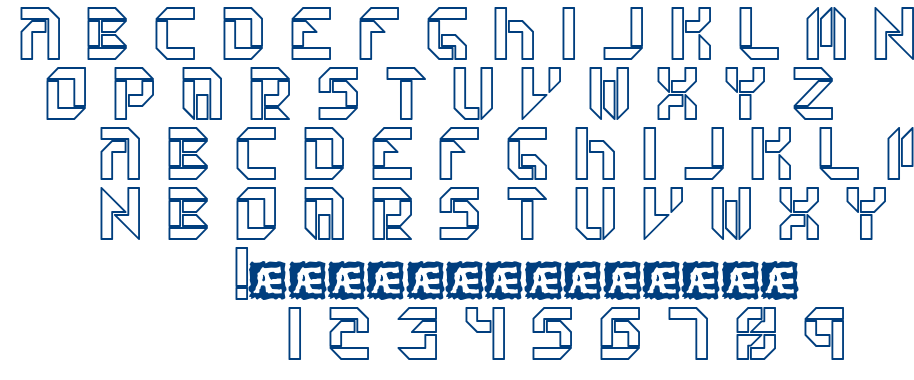Collective font