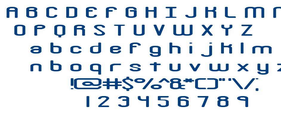 Crackdown font