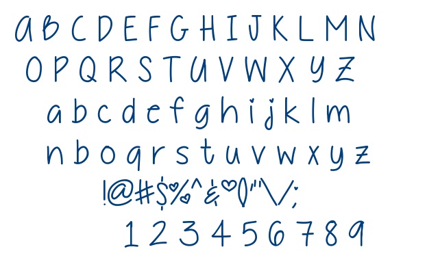 Daddy's + Girl font