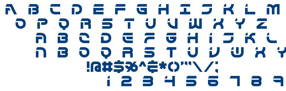 Flipside font