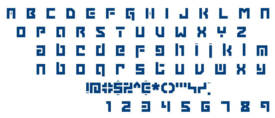 Grapple BRK font