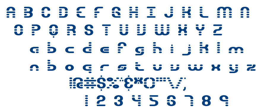 Gravitate BRK font