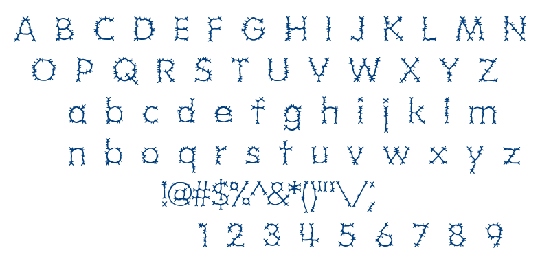 Grotesque BRK font