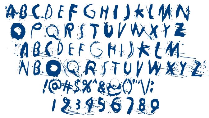 Horros font