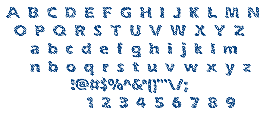 Ink Swipes BRK font