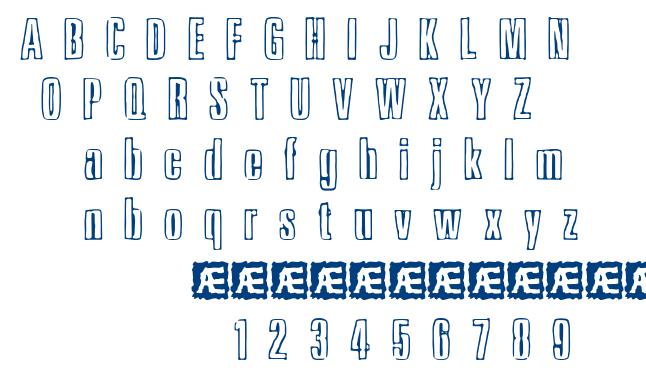 Ink Tank font
