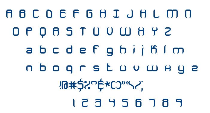 Jeopardize BRK font