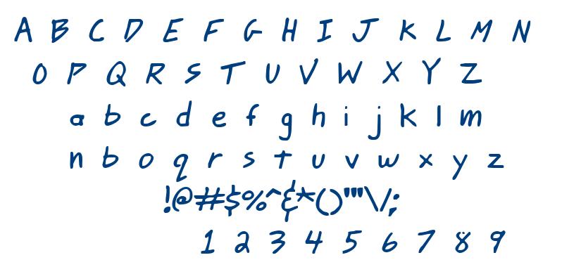 Johnny Mac Scrawl BRK font