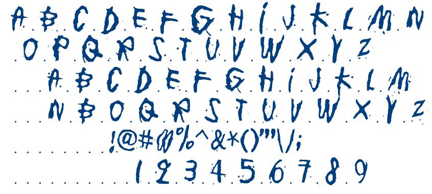 Junkohanhero One font