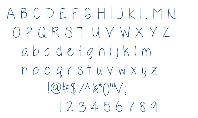 Kelli+Lynn font