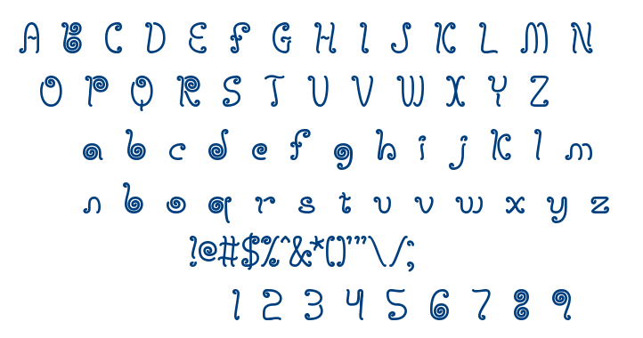 Licorice Strings font