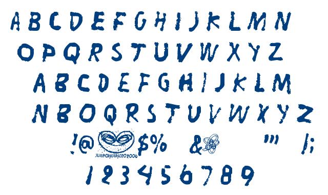 Liitu font