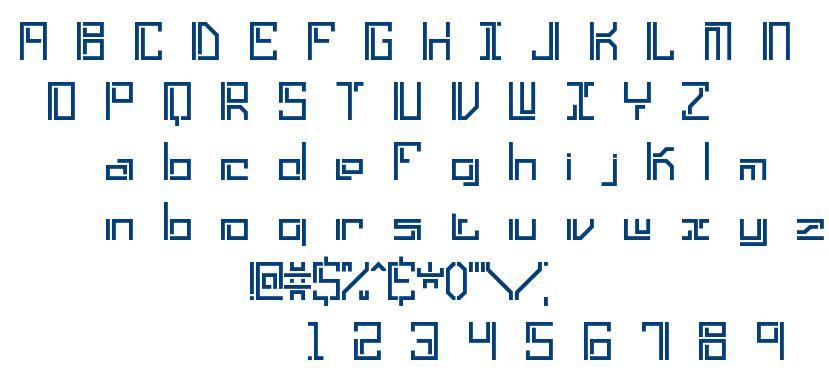 Lyneous font