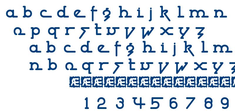 Powderworks BRK font