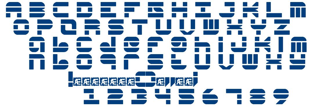 Pseudo BRK font