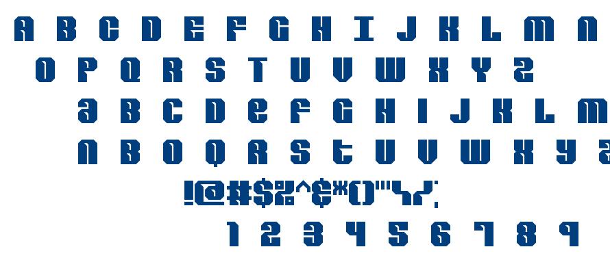 Revert BRK font