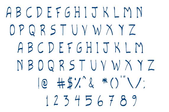 Scripto TFB font