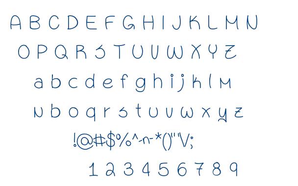 }Sixteen font