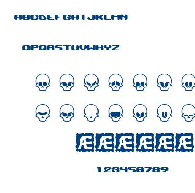 Skull Capz font