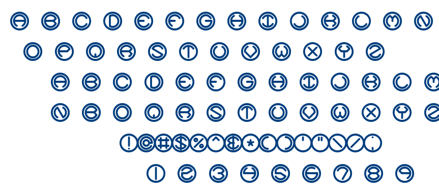 Code Of Life + Spheroids BRK font
