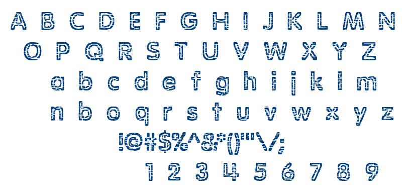 Stagnation BRK font