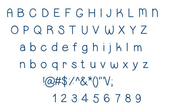 Sweetness :) font