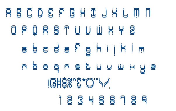 Synthetic BRK font