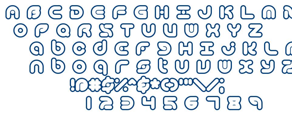 Technique BRK font