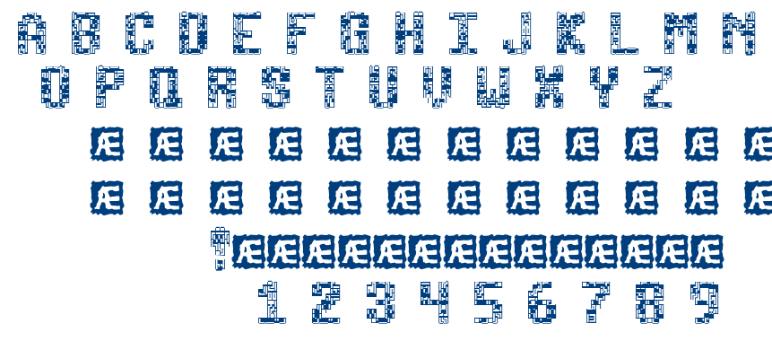 tetricide font