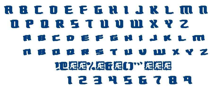 Turmoil BRK font