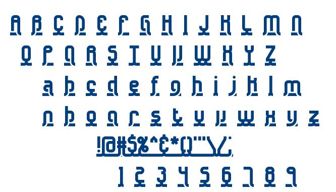 Underscore font