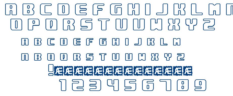 Underwhelmed BRK font