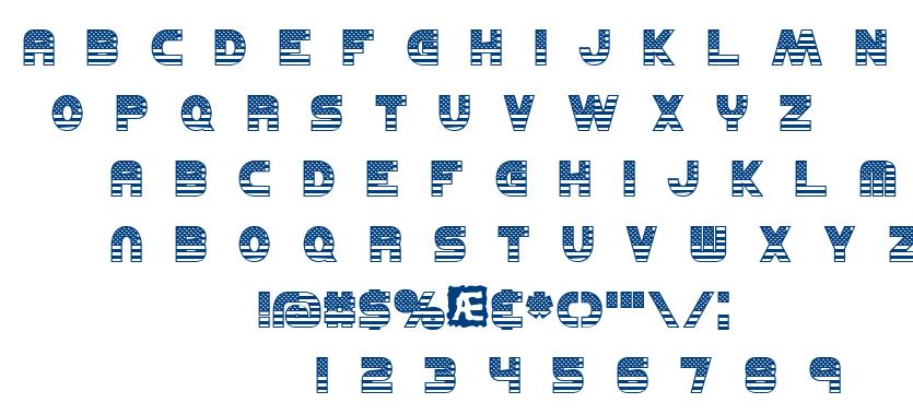 United BRK font
