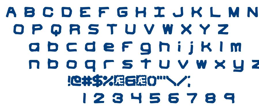 Vindictive BRK font