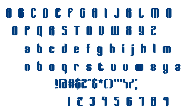 Wager BRK font