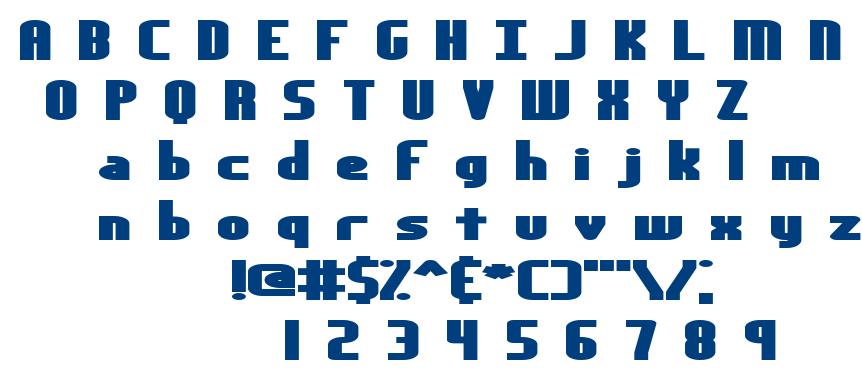 Yesterday BRK font