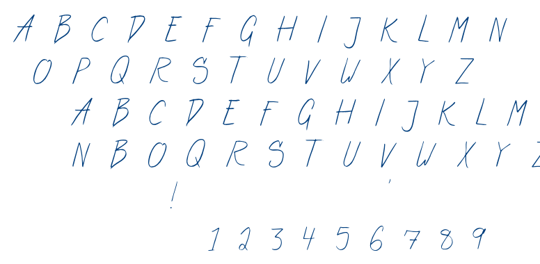 Art Center font