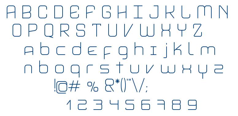 Aviddyn font