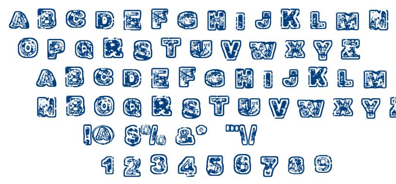 Balagan font