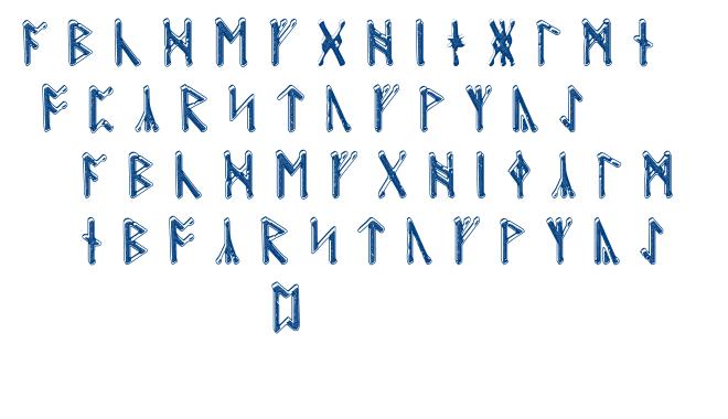 Beowulf Runic font