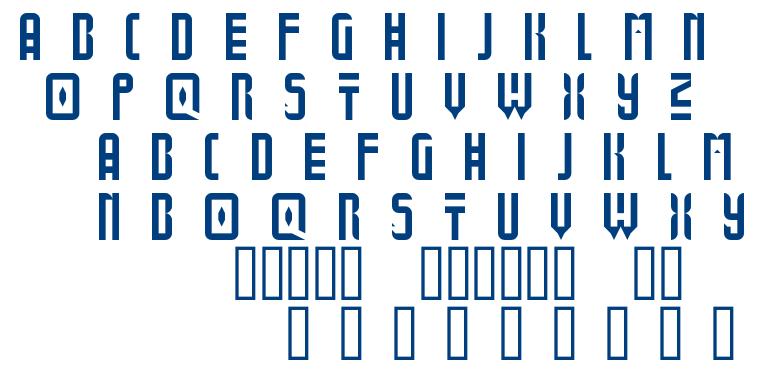 Bold Universe font
