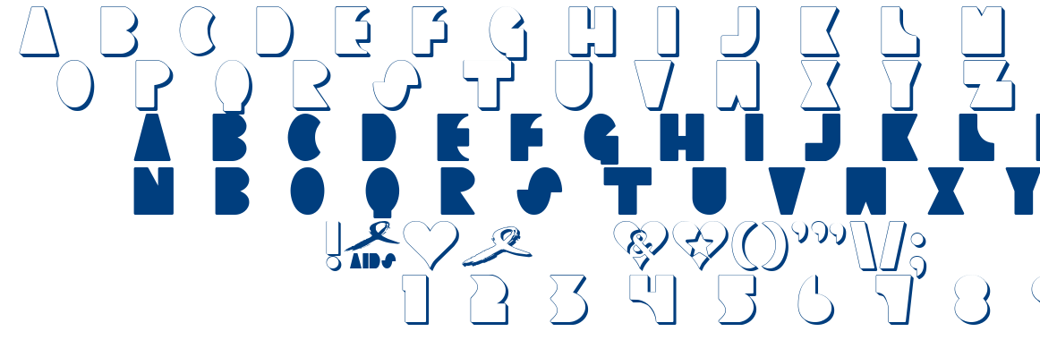CLIMAXED font