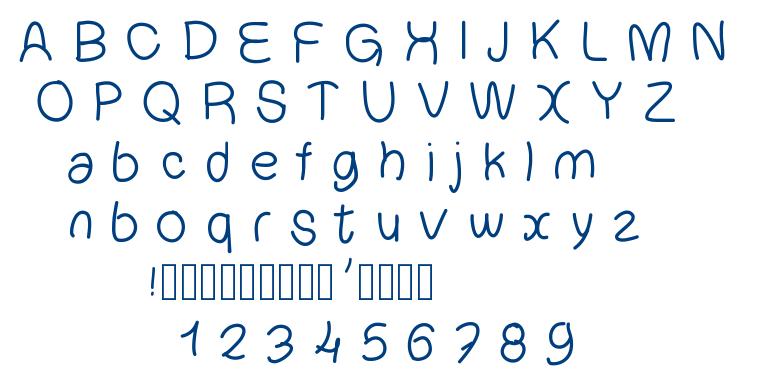 Chouchou font