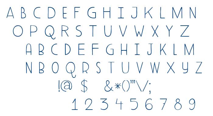 DK Aderyn font